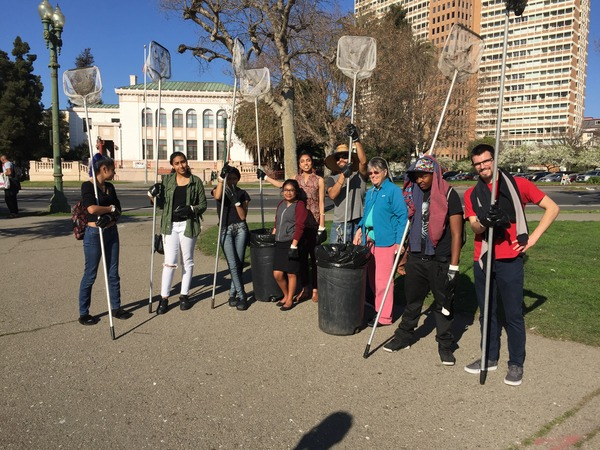 Lake Merritt Clean Up 2.2018