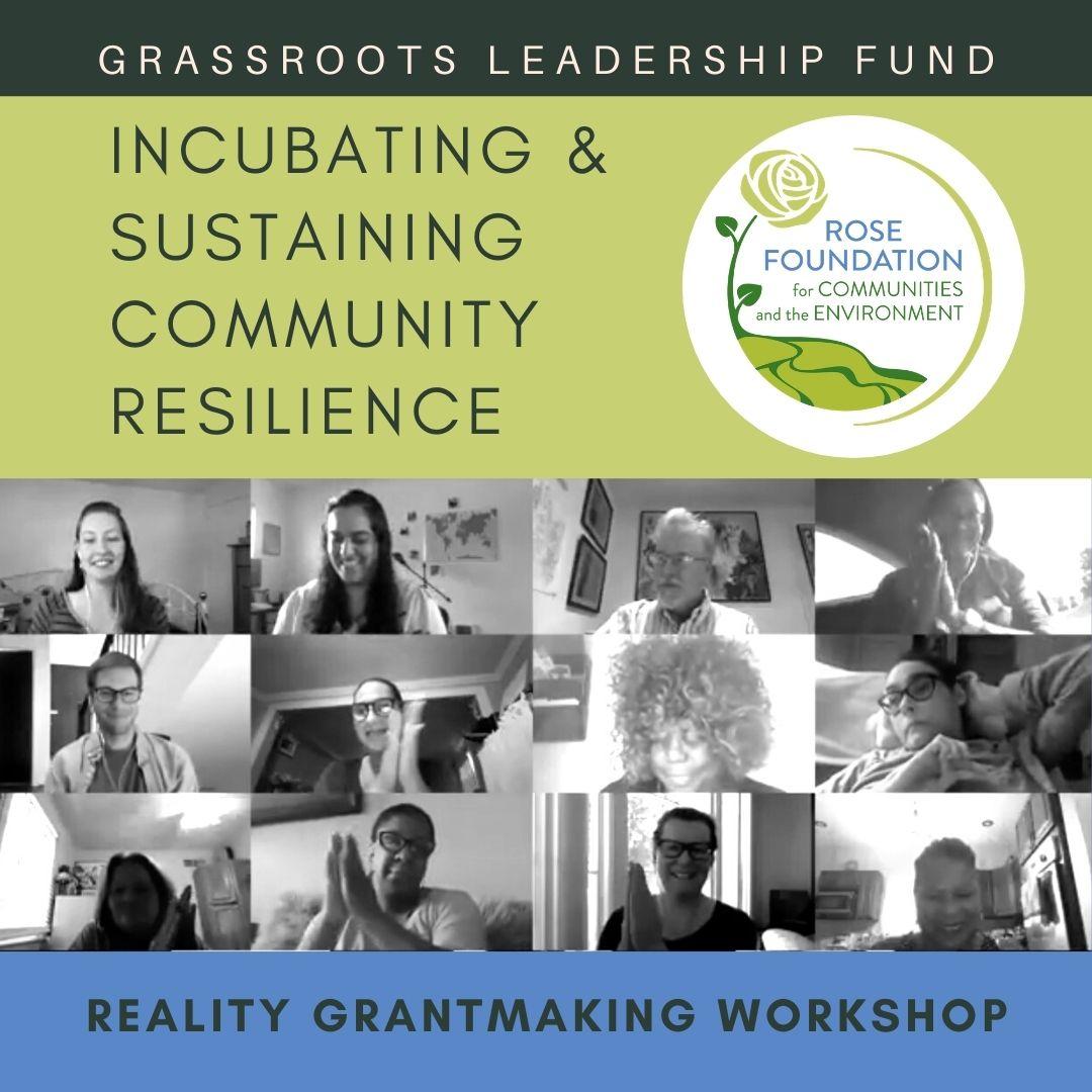 Incubating & Sustaining Community Resilience